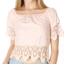 2019 Sweet Slash Neck Tops Lace Sexy Shirts Female Casual Summer Women Off The Shoulder T-Shirts