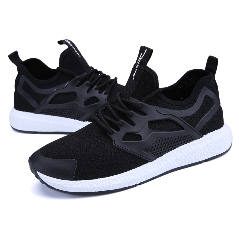 Mens Walking Shoes Breathable Light-weight Sneakers Women Outdoor Sports Shoes Men Brand ...