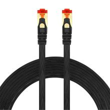 CAT6 Platte Ethernetkabel RJ45 Lan Kabel Netwerk Gigabit Patch Kabel Afgeschermde Connector Voor Computer Router Laptop Modem