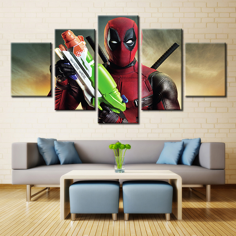 Embelish HD Print On Canvas Paintings For Kids Chidrens Cartoon Spiderman Wall Pictures Modern Home Decor Modular Posters Framed