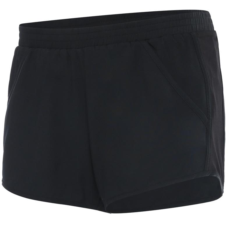Summer outdoor sports running shorts female marathon athletic short pants loose sweat breathable elastic gym yoga shorts