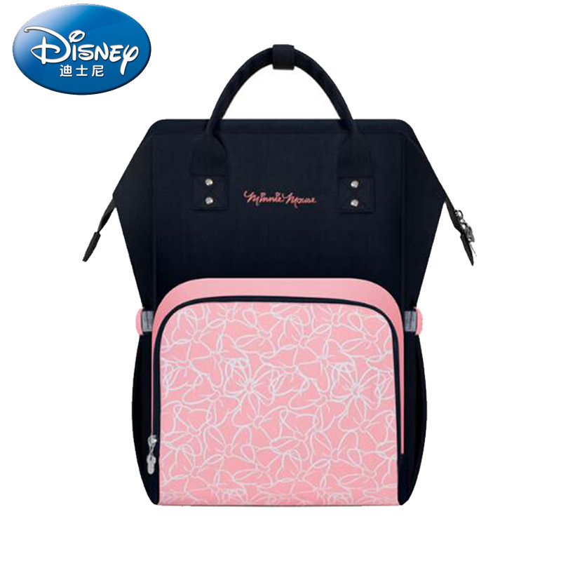 Disney Maternity Diaper Bag USB Heating Nappy Backpack Large Capacity Toddler Nursing Travel Backpack Heat Preservation ...