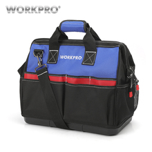 WORKPRO New 18 Inches Bag  Large Tool Bags Big Multifunctional for Travel Storage