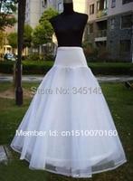 Hot sale NEW A Line 1 Hoop Lycra bridal Accessories crinoline slip petticoat underskirt