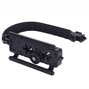 Image 2 - DV Hand Held C Shaped Shooting Video Stabilizer Hand held Low Frame Flash Stands Stabilizer
