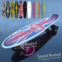 2018 globe peny board original complete Skateboard griptape Retro Mini Skate long board cruiser longboard personal transporter
