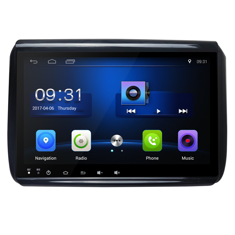 9 inch HD Android 6.0 Quad Core Car DVD Radio Player for <font><b>Peugeot</b></font> <font><b>208</b></font> 2008 2014 2015 2016 Support WiFi 3G Can Bus RAM 1G ROM 16G image