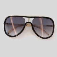 Vintage Oval Sunglasses Women High Quality Luxury Brand Shades 2019 Acetate Frame Sun Glasses Female UV400 Eyewear