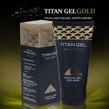 Original Russian Titan Gel Gold For Men Penis Enlargement Extension XX