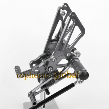 CNC Motorcycle Parts Titanium Rearsets Foot Pegs Rear Set For KAWASAKI ZX14RZ/ZR1400 2006-2007 2008 2009 2010 2011 2012 2013