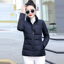 Модная Ультралегкая парка зимняя куртка женская уникальный стиль женские куртки короткие теплые тонкие зимние пальто женские большие размеры 5XL