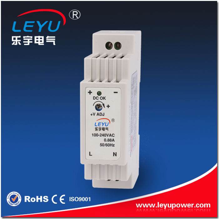 DR-15-5 15W Single Output Industrial DIN Rail powers