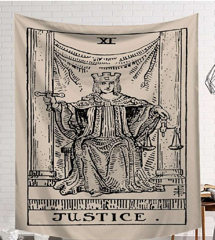 Image 3 - CAMMITEVER Power God Tapestry High Quality Fabric Wall Carpet Table Cloth Beach Cloth Dark Constellation Shawl/Blanket-in Tapestry from Home & Garden