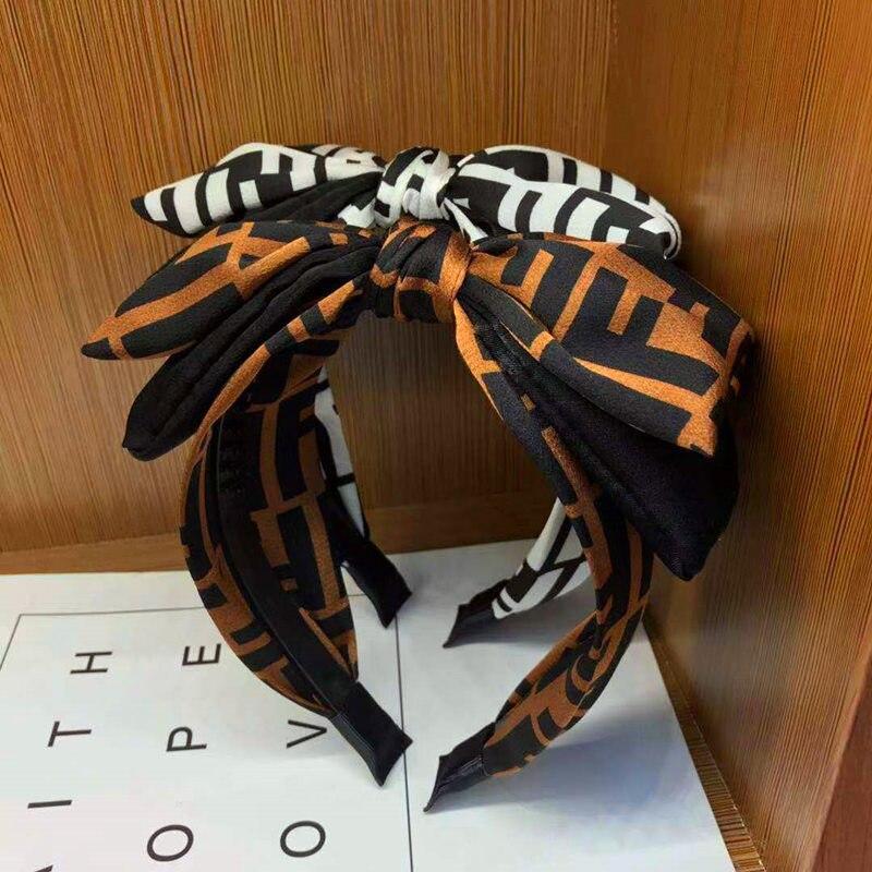 Fashion Bowknot Hairband Headband Ladies Big Bow Hair Accessories   Headwear   For Girls