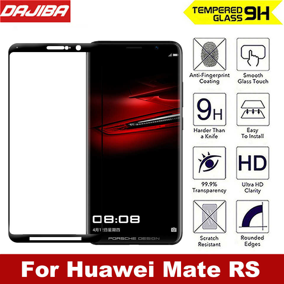 Brand 9h 3d Curved Full Protective Tempered Glass For Huawei Mate Rs Premium Samsung Note 8 Case Friendly Good Touchscreen Clear Bening Cover Screen Protector Film Maters In Phone Protectors