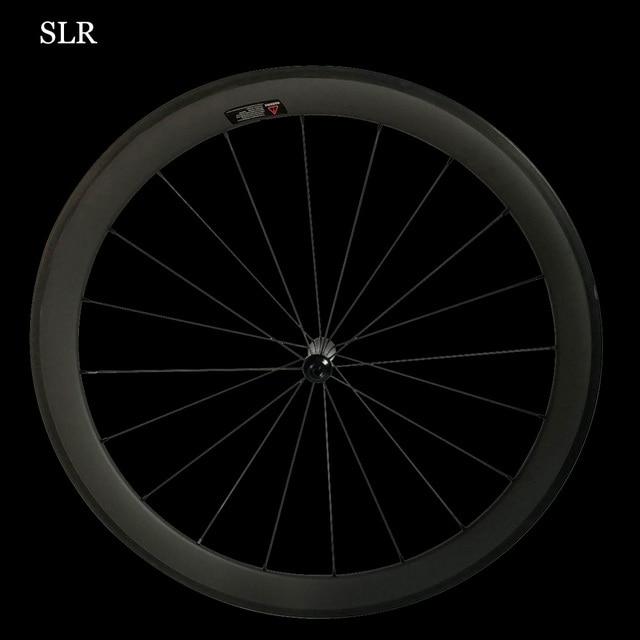 CSC SLR Carbon Road Bike Wheelset Straight Pull Low Resistance Ceramic Hub 25mm U Shape Tubular Clincher Tubeless 700c Wheels