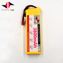 Rechargeable LYNYOUNG lipo battery 3800mAh 11.1V 35C 3S for RC Airplane Helicopter Quadrotor Car Glider