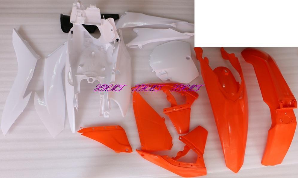 Пластик Кузов обтекателя тела комплект для KTM SX125 SX150 SX250 SXF250 SXF350 SXF450 SX 125 150 250/SXF 250 350 450 2013 2014