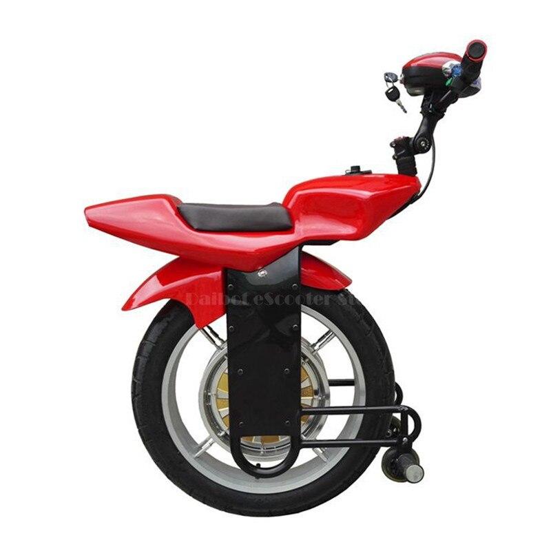 Daibot puissant Scooter électrique 18 pouces auto équilibrage Scooters 1000 W hors route adulte Scooters électriques Monocycle avec Bluetooth