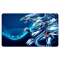 Blue Eyes White Dragon Yugioh Playmat Board Games The Play Mat Pad YGO Card Games Playmat