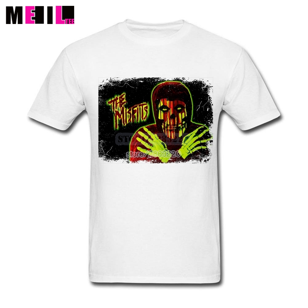 Design t shirt online - Men S The Misfits Band Logo Plus Size Design T Shirt Online Short Sleeves T Shirts T Shirt In T Shirts From Men S Clothing Accessories On Aliexpress Com
