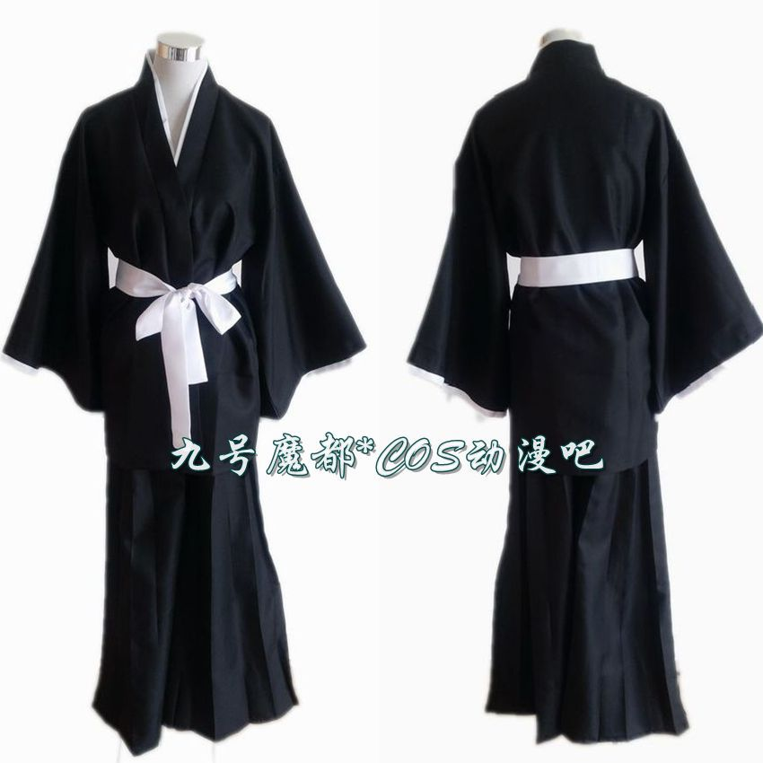 Bleach Shinigami Kurosaki Ichigo Costume Cosplay Anime Manga NEW Free Shipping