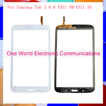 Original 8.0″ For Samsung Galaxy Tab 3 8.0 T311 SM-T311 3G Version Touch Screen Digitizer Sensor Glass Panel White Black
