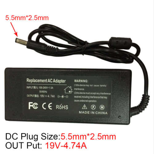 19v 4.74a Ac Power Supply Adapter Laptop Notebook 19 V Volt Power Adapter Charger For Asus K53 K53b K53by K53e K53flaptop