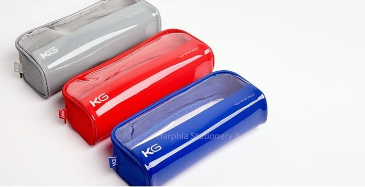 candy color fashion multifunction plastic pencil pen case stationery pouch cosmetic makeup bag large capacity gray blue black игрушка ecx ruckus gray blue ecx00013t1