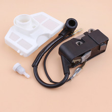 Ignition Coil Magneto Air Filter Fuel Tank Vent Kit For Chinese Chainsaw 4500 5200 5800 45cc 52cc 58cc Replacement Spare Parts