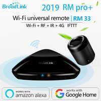 2019 Broadlink RM33 RM Pro+/RM mini3 Smart Home Automation Universal Remote controller Intelligent WIFI+IR+RF Switch