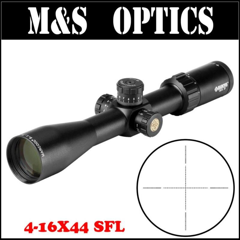 2017 NEW MARCOOL ALT 4-16X44 SFL Optical Sight Hunting Riflescope Rifles Gun Scope For Airsoft Air Guns marcool alt za3 5 25x56 sfir riflescope