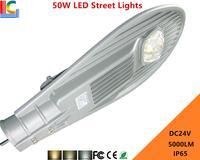 50W LED Street light 24V Solar Compatib Road light 5000LM Ultra Brightness Garden lamp IP65 Waterproof Outdoor Lighting Lamps CE