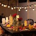 10 X 5 M 20LED de G45 de conectável Plug in do partido de casamento / Chirstmas decoração de luzes GarlandLed