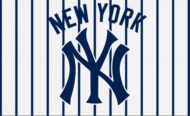 New York Yankees Logo Flag 3ft X 5ft Polyester Banner 90x150cm 2 Metal Grommets