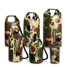 PVC 5L 10L 20L Outdoor Swimming Waterproof Dry Bag Storage For Man Women Swim Rafting Kayak Diving Floating цена