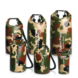 PVC 5L 10L 20L Outdoor Swimming Waterproof Dry Bag Storage For Man Women Swim Rafting Kayak Diving Floating