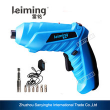 Foldable drill DIY Tools 180 degree Rechargeable electric Screwdriver with LED work light
