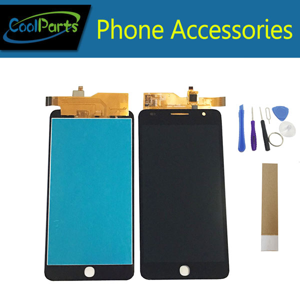 1PC/Lot For Alcatel One Touch Pop Star 3G OT 5022 OT-5022 5022X OT5022 LCD Display+Touch Screen Digitizer Black Color +Tool&Tap