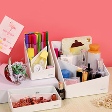 Creative Fashionable And Refreshing Pencil Holder Box Desktop Display Simple Office Supplies Pen Bucket Stationery