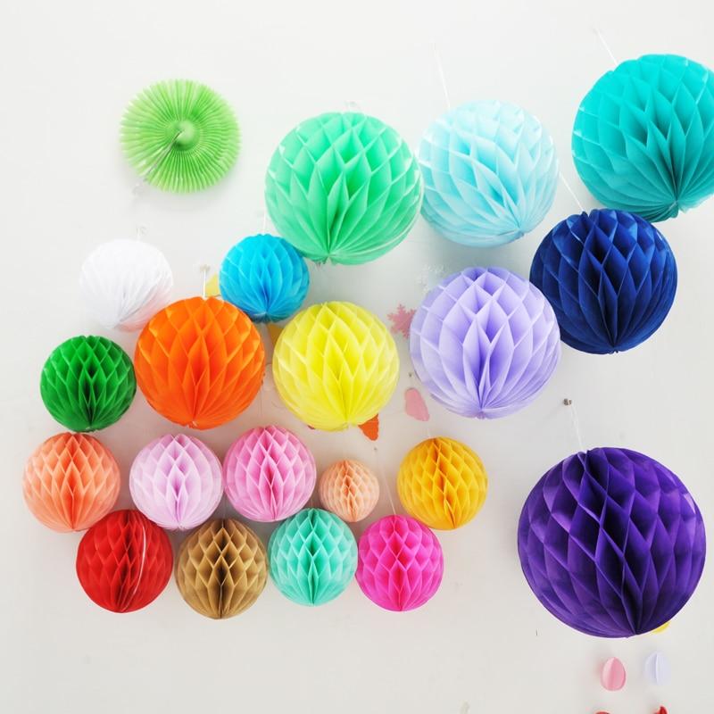 25CM Wedding Party Birthday Honeycomb Ball Paper Lantern Decoration