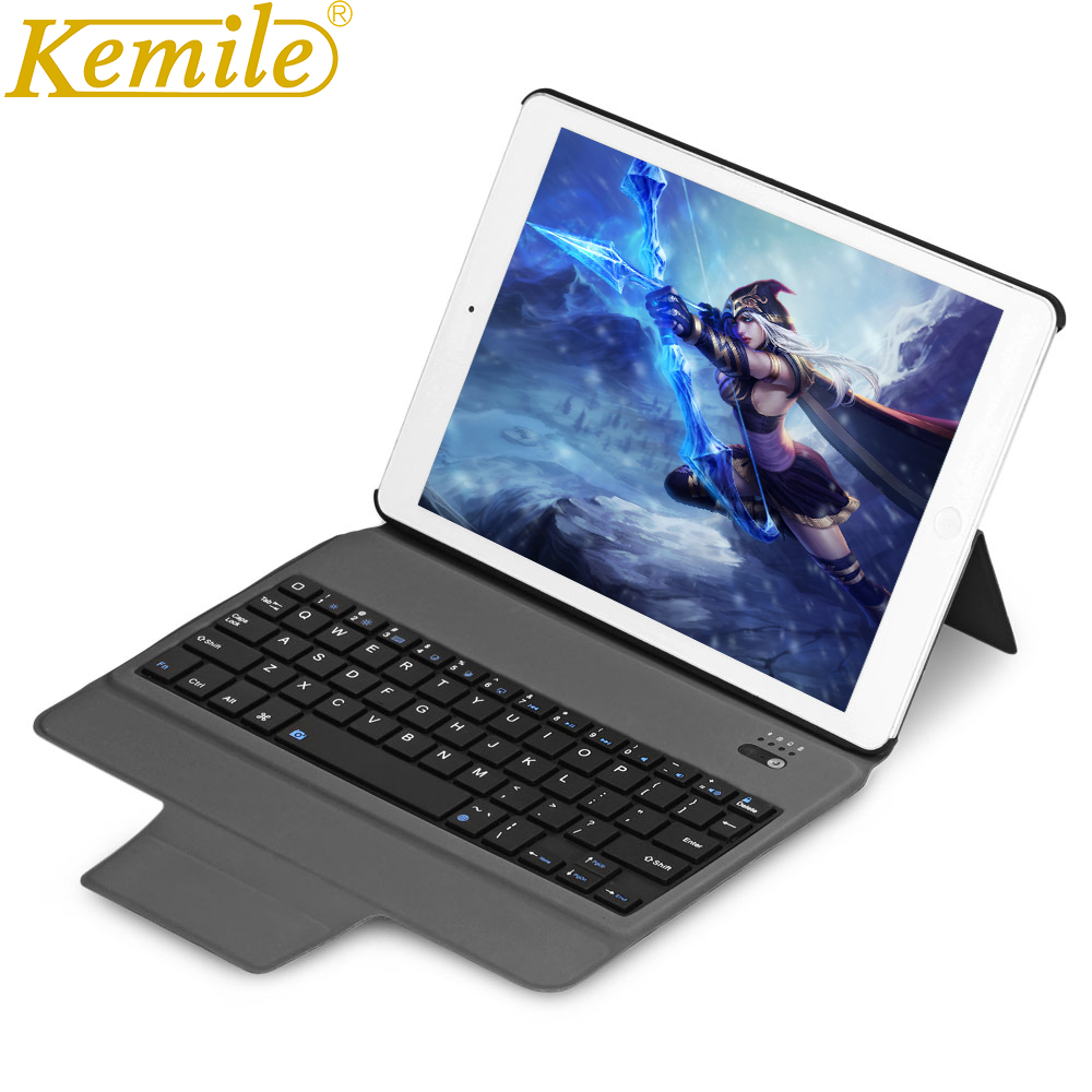 kemile Case For mini Ultra Slim Bluetooth Keyboard W Magnetic Holder Leather Case Tablet Keypad klavye Cover For iPad Mini 1/2/3 original bluetooth keyboard case for 7 9 inch ipad mini 1 2 3 tablet pc for ipad mini 1 2 3 keyboard case cover