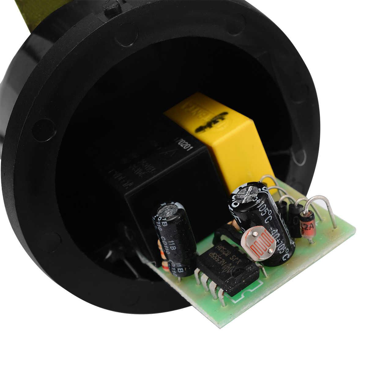 Непромокаемый автоматический светильник с датчиком управления Фото переключатель для наружного уличного светильник переключатель управления экономия энергии Mayitr