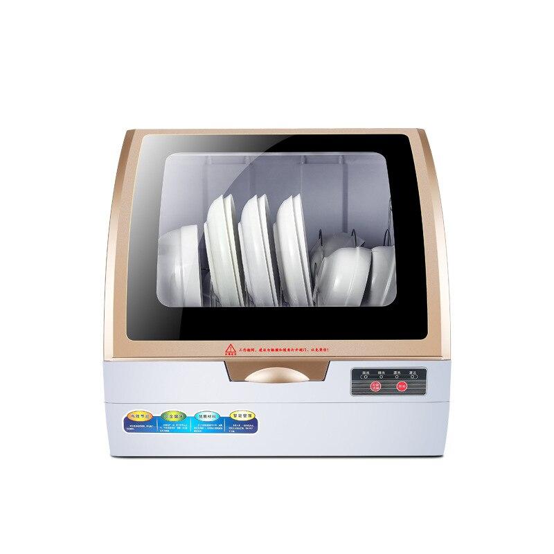 800w 75 Degree Automatic Dishwasher Electronic Dish Dryer Household Table Small Dishwasher Mini Washing Machine Dish Washer
