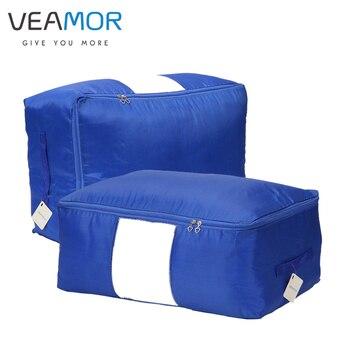 Veamor бренд Оксфорд Одеяло хранения сумки для домашней одежды хранения для гардероба Женщины хранения oranization плюс размер пыли сумки