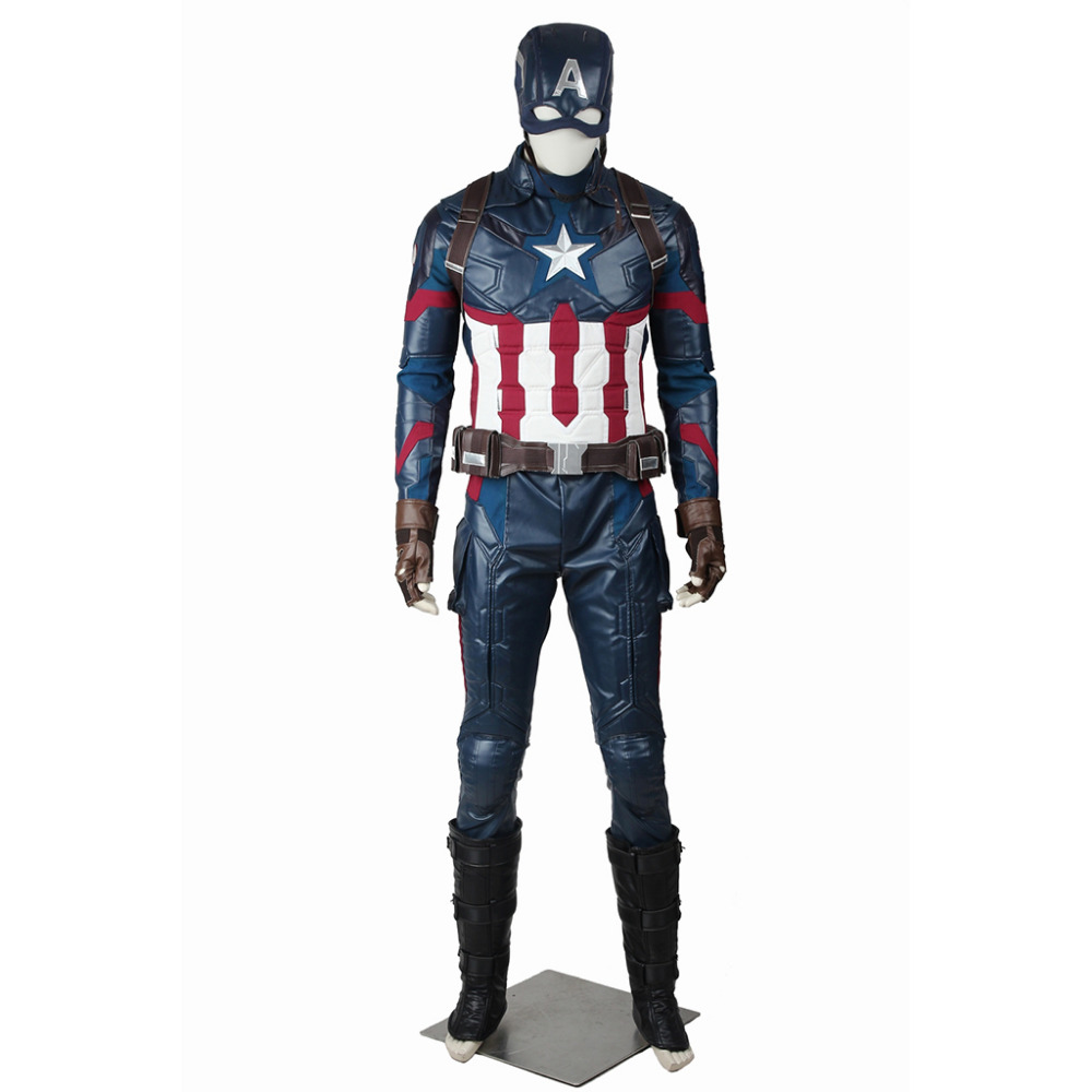 Captain America: Civil War Steve Rogers Captain America Cosplay Costume