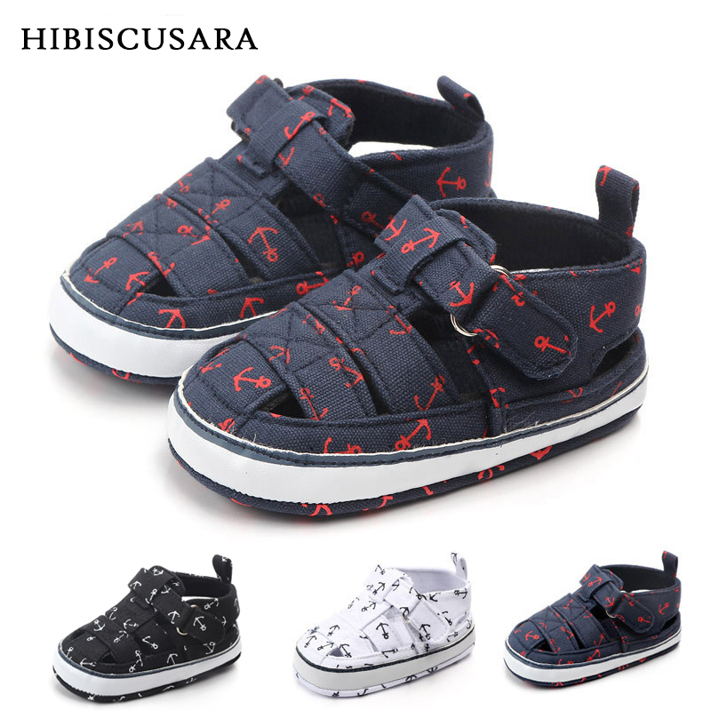Newborn Baby Boys Fashion Summer Crib Shoes Children Toddler Casual First Walker Anti Slip Shoes Soft Sole Sneaker Prewalkers