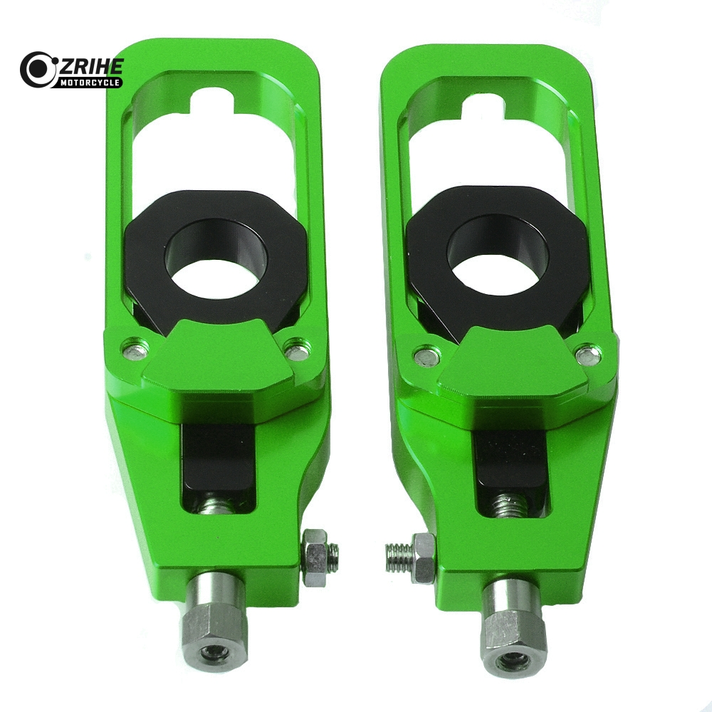 For Kawasaki Z 900 2017 Motorcycle Left & Right Chain Adjusters with Spool Tensioners Catena For Kawasaki Z900 2017For Kawasaki Z 900 2017 Motorcycle Left & Right Chain Adjusters with Spool Tensioners Catena For Kawasaki Z900 2017