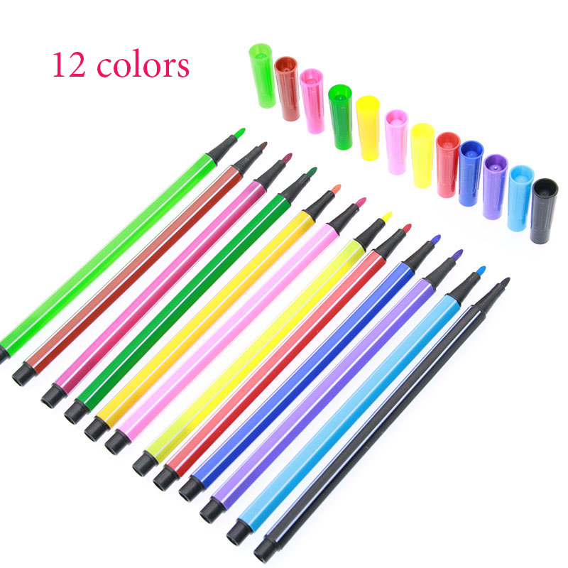 Watercolor Pens for Children - Sets of 12, 18, 24 and 36 colors 2