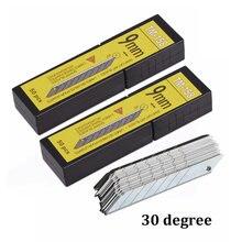 Ehdis 100 шт художественные лезвия 30 градусов стальное лезвие